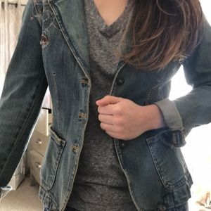 Jackets & Blazers - Jean jacket like new